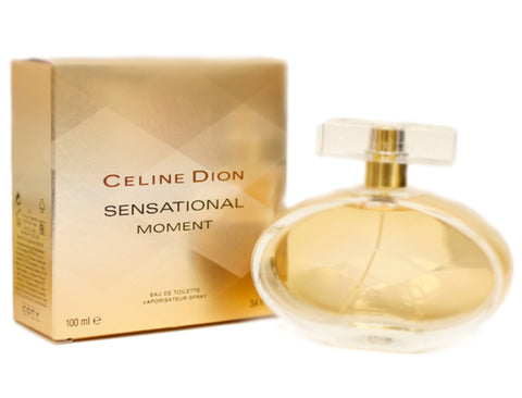 ClS125 - Celine Dion Sensational Moment Eau De Toilette for Women - Spray - 3.4 oz / 100 ml