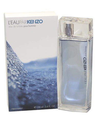 LE38M - L'Eau Par Kenzo Eau De Toilette for Men - 3.4 oz / 100 ml Spray