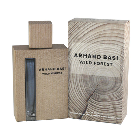 ARW30M - Armand Basi Wild Forest Eau De Toilette for Men - Spray - 3 oz / 90 ml
