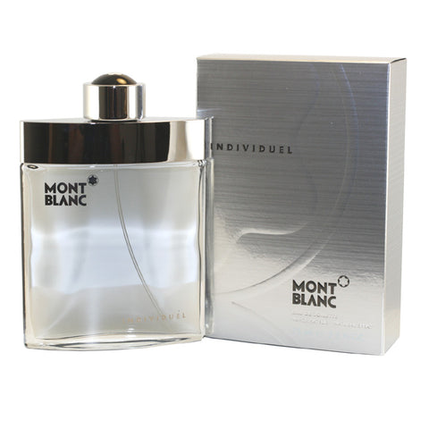 MO43M - Mont Blanc Individuel Eau De Toilette for Men - Spray - 2.5 oz / 75 ml