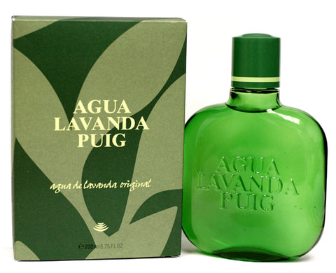 AQU7M - Agua Lavanda Puig Dry Lavender for Men - Splash - 6.75 oz / 200 ml