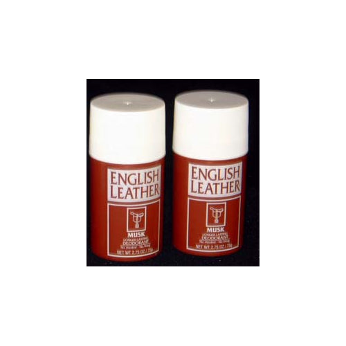 EN101M - English Leather Musk Deodorant for Men - 2 Pack - Stick - 2.75 oz / 85 g