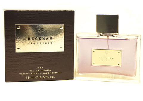 DBS12M - Beckham Signature Eau De Toilette for Men - 2.5 oz / 75 ml Spray