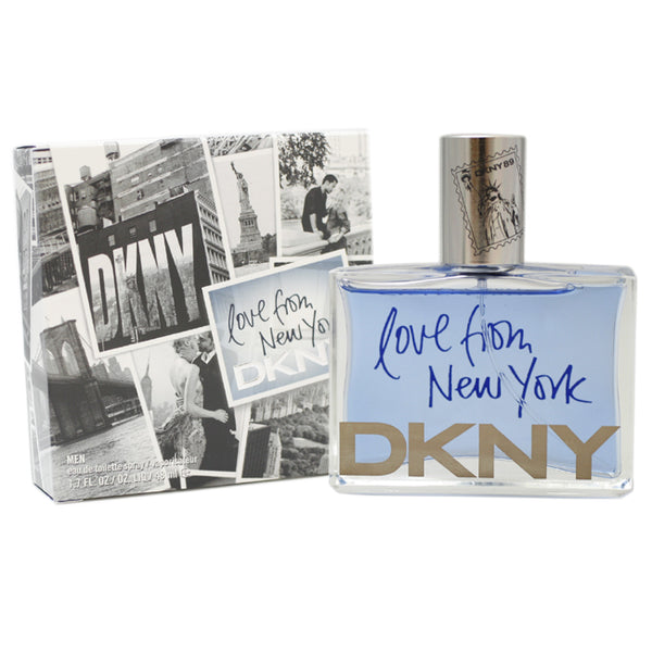 DKNY26M - Dkny Love From New York Eau De Toilette for Men - Spray - 1.7 oz / 48 ml