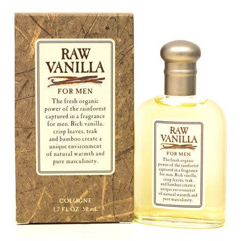 RA48M - Raw Vanilla Cologne for Men - Splash - 1.7 oz / 50 ml