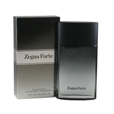 ZEG18M - Zegna Forte Eau De Toilette for Men - 3.4 oz / 100 ml Spray
