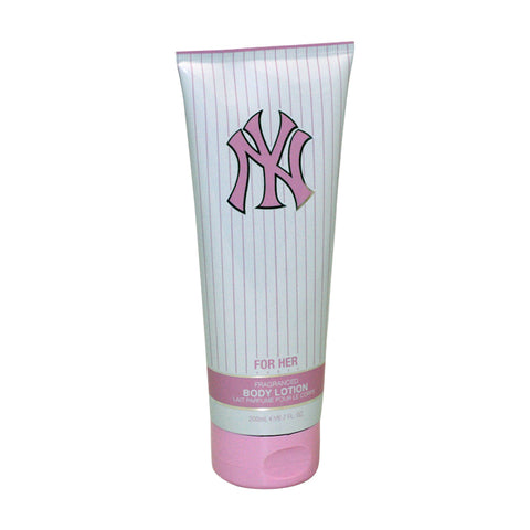 NY36U - New York Yankees Body Lotion for Women - 6.7 oz / 200 ml - Unboxed