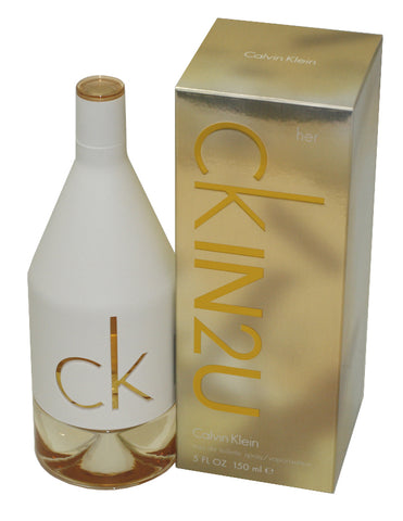 CK126 - Ck In2U Eau De Toilette for Women - Spray - 5 oz / 150 ml