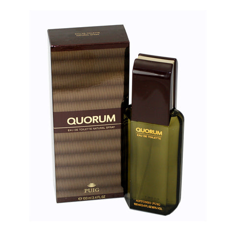 QU32M - Quorum Eau De Toilette for Men - 3.4 oz / 100 ml Spray