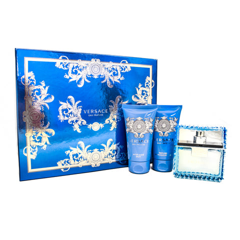 VER41M - Versace Man Eau Fraiche 3 Pc. Gift Set for Men