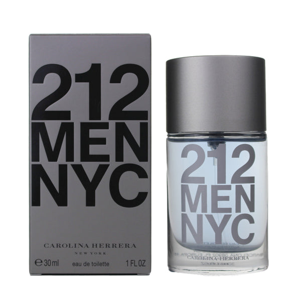 AA818M - Carolina Herrera 212 Eau De Toilette for Men - 1 oz / 30 ml - Spray