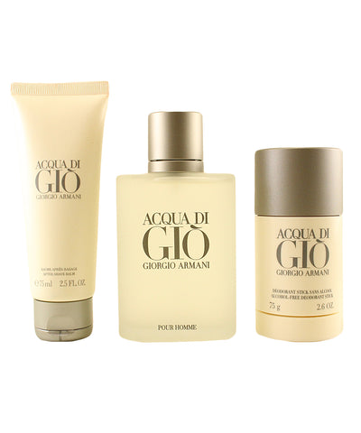 AC719M - Acqua Di Gio 3 Pc. Gift Set for Men - Default Title