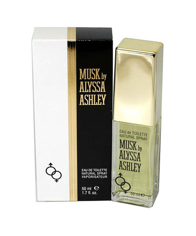 AL17 - Alyssa Ashley Musk Eau De Toilette for Women - 1.7 oz / 50 ml Spray