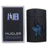 AM34M - Thierry Mugler Angel Men Eau De Toilette for Men - 3.4 oz / 100 ml - Refillable