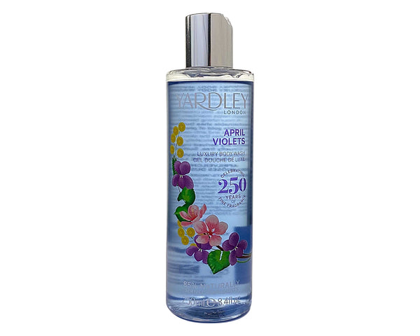 AVS84 - Yardley April Violets Luxury Body Wash for Women - 8.4 oz / 250 ml