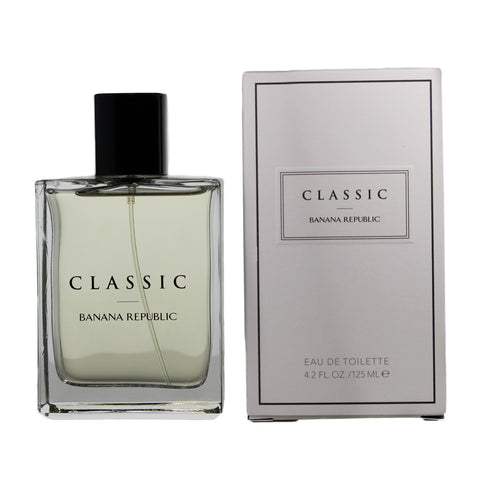 BAN13M - Classic Eau De Toilette for Men - 4.2 oz / 125 ml - Spray