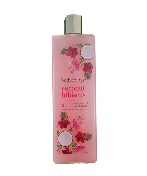 BCH16 - Coconut Hibiscus Body Wash for Women - 16 oz / 480 ml
