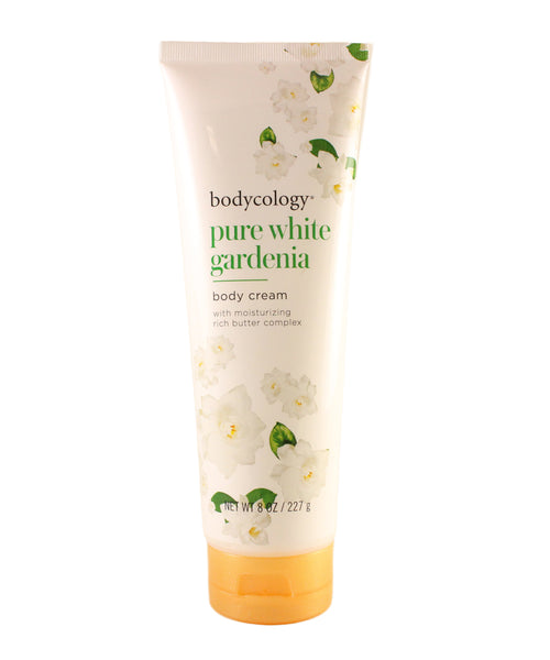 BPWG18 - Bodycology Pure White Gardenia Body Cream for Women - 8 oz / 227 g