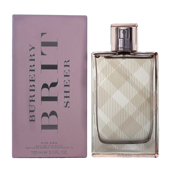 BR229 - Burberry Brit Sheer Eau De Toilette for Women - 3.3 oz / 100 ml