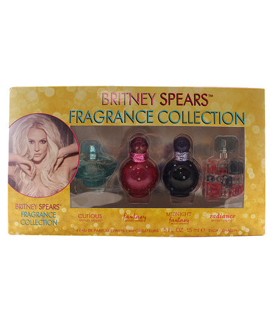 BSFC4 - Britney Spears Fragrance Collection 4 Pc. Gift Set for Women