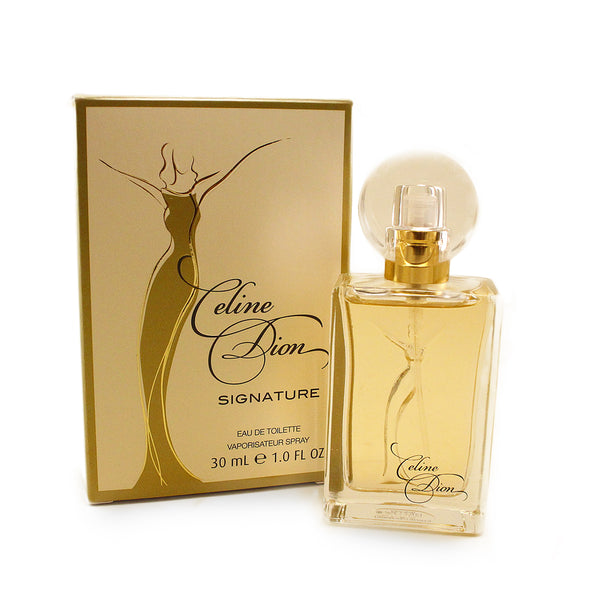 CDS14  - Celine Dion Celine Dion Signature Eau De Toilette for Women | 1.0 oz / 30 ml
