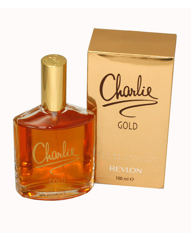 CH58 - Charlie Gold Eau De Toilette for Women - 3.4 oz / 100 ml Spray