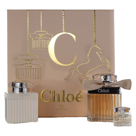 CHLO26 - Parfums Chloe Chloe' 3 Pc. Gift Set