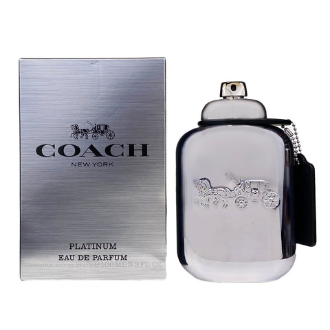 CHP33M - Coach Platinum Eau De Parfum for Men - 3.3 oz / 100 ml - Spray