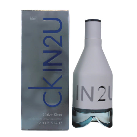 CKIN2U - Calvin Klein CKIN2U Eau De Toilette for Men - 1.7 oz / 50 ml - Spray
