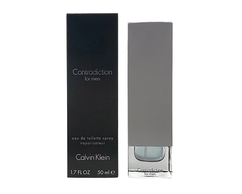 CO399M - Calvin Klein Contradiction Eau De Toilette for Men - 1.7 oz / 50 ml