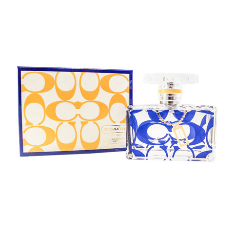 COSS17 - Coach Signature Summer Edition Eau De Toilette for Women - 1.7 oz / 50 ml - Spray