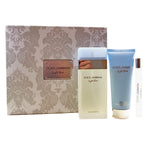 DO705 - Dolce & Gabbana Light Blue 3 Pc. Gift Set for Women - Default Title