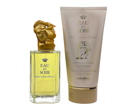 EAGS33 - Sisley Eau Du Soir 2 Pc. Gift Set for Women - EDP 3.3 oz + Body Cream 5 oz