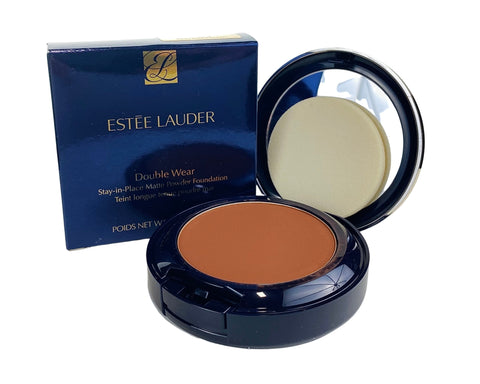 ES945 - Estee Lauder Double Wear Stay-in-Place Matte Powder Foundation for Women - 0.42 oz / 12 g - 7C1 - Rich Mahogany