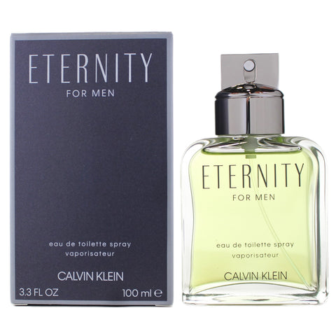ET05M - Calvin Klein Eternity Eau De Toilette for Men - 3.4 oz / 100 ml Spray