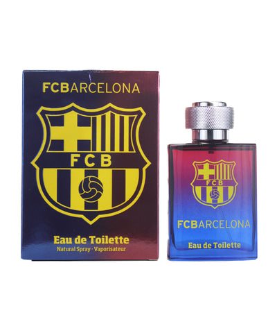 FCB34M - Air Val International FCBarcelona Eau De Toilette for Men - 3.4 oz