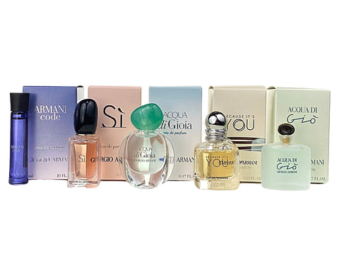 GAV52 - Giorgio Armani Acqua Di Gio 5 Pc. Gift Set for Women
