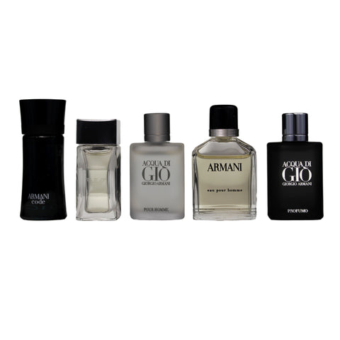 GIO27M - Giorgio Armani Variety 5 Pc. Gift Set for Men