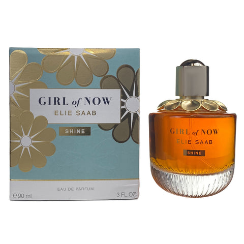 GNS30 - Elie Saab Girl Of Now Shine Eau De Parfum for Women - 3 oz / 90 ml - Spray