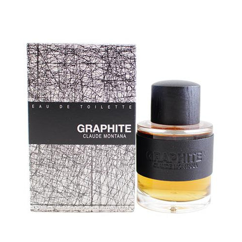 GRA33M - Claude Montana Graphite Eau De Toilette for Men - 3.3 oz / 100 ml