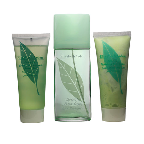 GRE23 - Green Tea Scent 3 Pc. Gift Set for Women