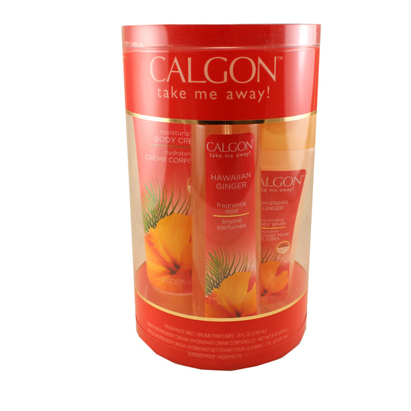 HAW20 - Calgon  Hawaiian Ginger 3 Pc. Gift Set for Women