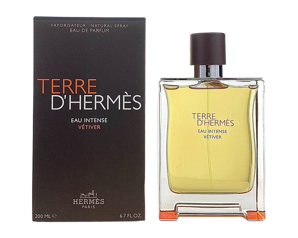 HTVE67 - Terre D'Hermes Eau Intense Vetiver Eau De Parfum for Men - 6.7 oz / 200 ml - Spray