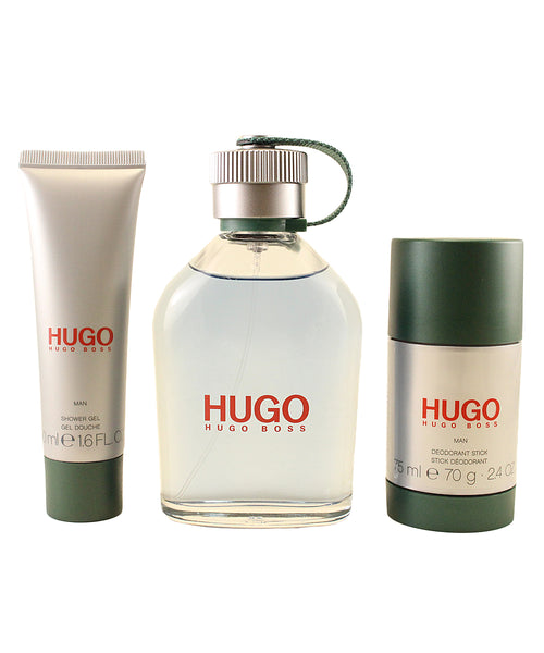 HU248M - Hugo Boss Hugo 3 Pc. Gift Set for Men - Default Title