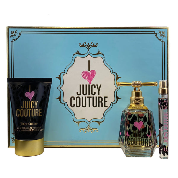 ILC42 - Juicy Couture I Love Juicy Couture 3 Pc. Gift Set for Women