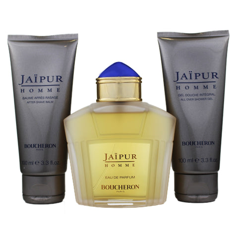JA56M - Boucheron Jaipur Homme 3 Pc. Gift Set for Men
