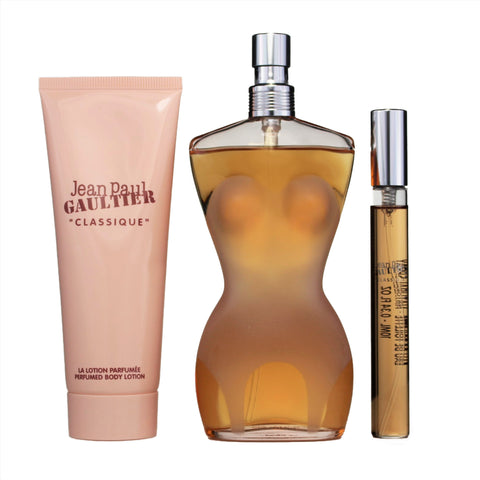 JE330 - Jean Paul Gaultier Classique 3 Pc. Gift Set for Women