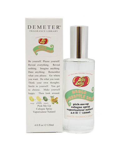JELL40 - Jelly Belly Mango Pineapple Salsa Cologne for Women - 4 oz / 120 ml Spray