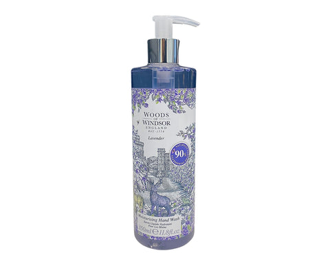 LAV118 - Woods of Windsor Lavender Moisturising Hand Wash for Women - 11.8 oz / 350 ml