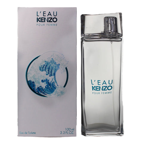 LEK33 - L'Eau Kenzo Pour Femme Eau De Toilette for Women - 3.3 oz / 100 ml - Spray